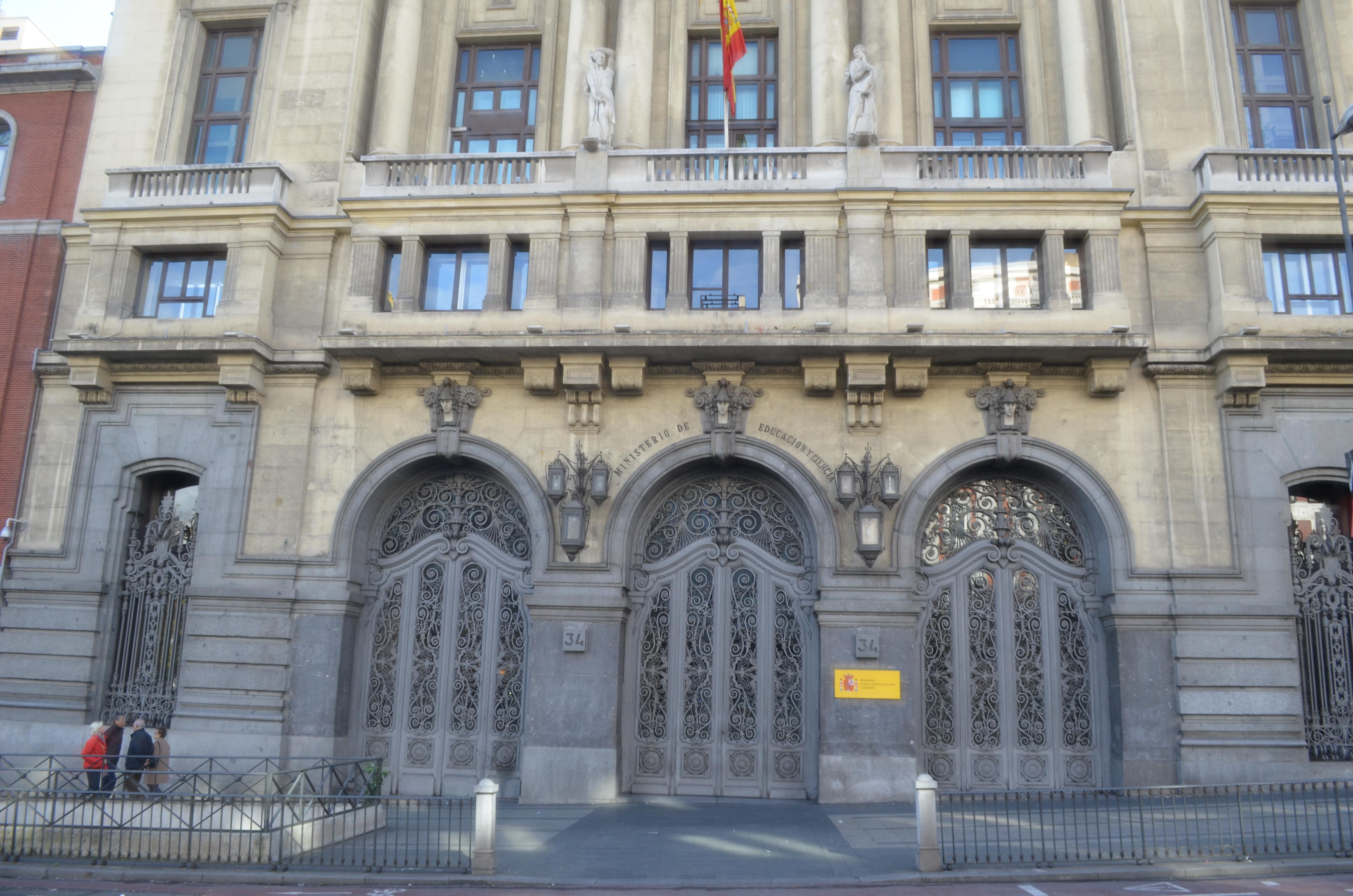 Ministerio de Educación, Madrid